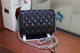 BELLA JOY Luxury Classical Bag Wallet On Chain Women Genuine Leather Lambskin Mini Flap Messenger Bags Designer Handbags