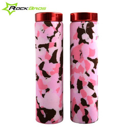 ROCKBROS New Camouflage Handlegrips MTB Fixed Gear Cycling Grips Bicycle Handlebar Lock-on Grips Parts,3Color