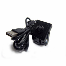 Wholesale MINI ATM USB Camera Megapixels USB Pinhole mini camera ATM Bank Camera mm Lens Support Linux XP System