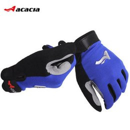 Wholesale-Acacia Brand Sports Glove Bike Bicycle Cycling Gloves Man Adolescents Full Finger Cycling Biking Gloves Luvas For Outdoor Sport