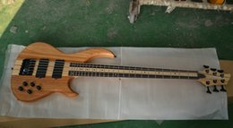 Wholesale 6 strings bass custom made Rosewood Maple Fretboard One piece body Chinese bass