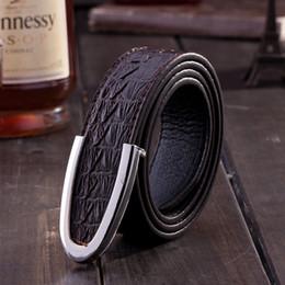 Ceintures de concepteur mens pour les jeans à vendre-2016 nouvelle marque véritable crocodile en cuir pour hommes d'affaires de grain ceintures de designer de luxe ceintures pour hommes de haute qualité pantalons jeans ceintures