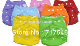 1 pcs waterproof reusable baby cloth diapers nappies +2 pcs inserts