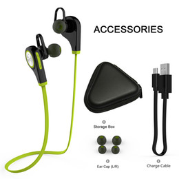 Bluetooth 4.1 Wireless Sports Headphones Q9 In-ear Running Stereo Earbuds Bluetooth headsets for iPhone Smartphone Android cellphone