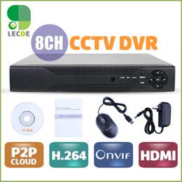 Full D1 H.264 HDMI Security System CCTV DVR 8 Channel Mini DVR Digital Video Recorder DVR with audio,HDMI,Cloud P2P