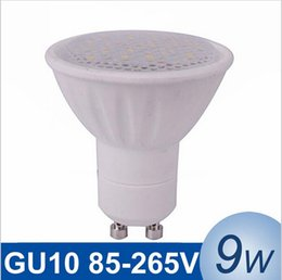 NEW GU10 LED Spotlight Light 9W SMD5730 Lampada LED Lamp Bulb Dimmable Bombillas LED Spot Light Ceramic Shell LED Lamps with epistar chip