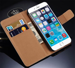 Wholesale For iPhone7 Wallet Case PU Leather Book Wallet Flip Case Cover for iPhone s Plus Note7 S6 S7 Edge Note