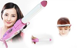 Wholesale JUNMA HA Multi functional Hair Styling tools Curling Irons Electronic Mini Travel Hair Curlers Rollers US version Good quality