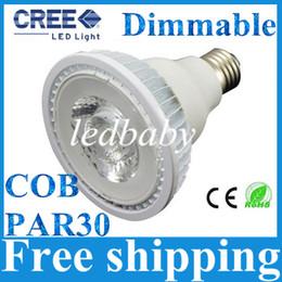 Wholesale Super Bright Lumens PAR30 Led Bulbs W E27 E26 Dimmable Led Spot Lights Best For Store Lighting AC V
