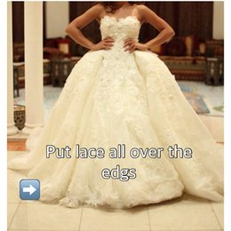 Custom Made 2019 Spring Gown Floral Wedding Dress With Rhinestone Bridal Gown Puffy Skirt Tulle Skirt For Wedding Party Dress