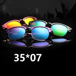 Wholesale aluminium magnesium sunglasses N5 green mm sunglasses for men uniex sun glasses half frame sunglasses