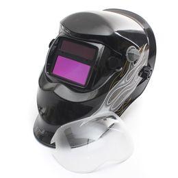 Wholesale Pro Fire Spirit Auto Darkening Welding Helmet MIG TIG ARC TDB Grinding Mask MAC_108