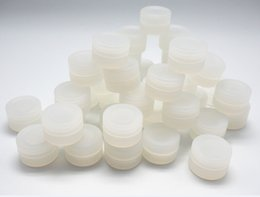Wholesale 300pcs brand new clear Silicone Nonstick Container for Concentrate non stick wax tub