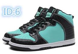 Sb dunks en Ligne-2014 Hommes de qualité supérieure SkateBoarding chaussures haut tops bas top casual formateurs chaussures design Dunk haute pro SB marque chaussures taille 40-46