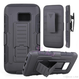 For Future Armor case Impact Hybrid Hard Phone Case Cover + Belt Clip Holster Kickstand Combo For Samsung Galaxy S7 Edge
