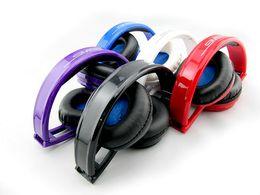 SMS Audio Sync Wired STREET par 50 Cent Casque Noir Blanc Bleu Over-Ear Wired Casques à partir de rue sms via un casque d'oreille fabricateur