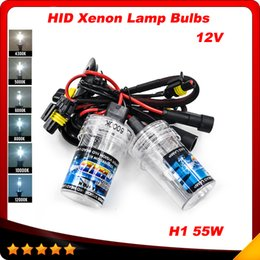 Wholesale New pair H1 W Xenon for HID Replacement V Car Auto Headlight Light K K K K K K Lamp