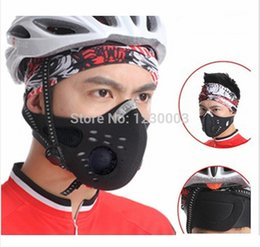 Wholesale new outdoor sports bike air filter pollution masks bike riding dust masks