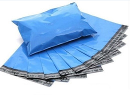 Wholesale 10 x Blue Poly Mailers Shipping Envelopes Couture Boutique Quality Blue Bags PC