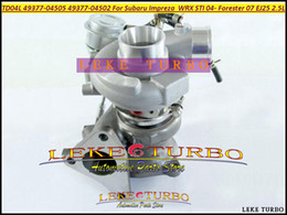 TD04L 49377-04505 49377-04502 49377-04504 14412AA4560 Turbo Turbocharger For SUBARU Impreza WRX STI 2004- Forester 07 EJ25 2.5L