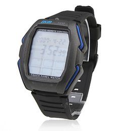 Wholesale Touch Panel TV DVD VCR Remote Controlled Wrist Watch
