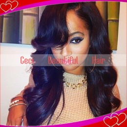 brazilian hair glueless full lace wigs with bangs &lace front human hair wigs with bangs loose wave hair wigs