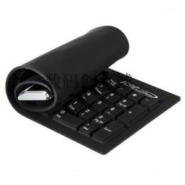 Venta al por mayor del polvo anti-Portabilidad Genérico USB 2.0 104Keys flexible de silicona impermeable teclado portátil PC de escritorio con conexión de cable del teclado cheap wired usb silicone keyboard wholesale desde usb con cable al por mayor del teclado de silicona proveedores