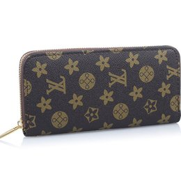 Wholesale Woman Colorful PU Leather Long Fashion Wallets Purses Female Womens Wallet Famous Brand Women Clutch Portefeuille Femme gw0156