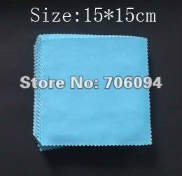 Wholesale-200pcs lot,140gms Size:15*15cm,Polyester Fiber Cleaning cloth,Phone Cloth,LCD ,Eyewear,Glasses,Camera,Jewerly Cleaning Cloth