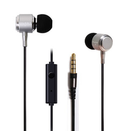 Wholesale In Ear Stereo Listen Music And Telephone mm Earphone Headphones For Mobile Phone IPhone S Samsung Xiaomi Ipad Best Bass