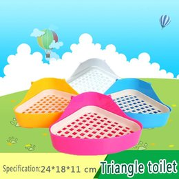 Hot Sales Global Shopping Festival 2015 NEW Free pet rabbit toilet Plastic multicolor rabbit pet supplies Easy to clean