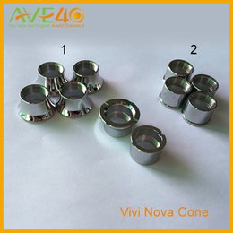 Wholesale HOT E Cigarette Vivi Nova Cone Beauty EGO Adapter Ring For Atomizer Ego Thread Atomizer Twist battery Vision Spinner Holder Connection