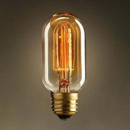 Special lighting Filament Straight Firework Art light bulb vintage Edison lamp E27 Halogen Bulbs,Free Shipping,T45-12