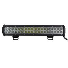 108W CREE LED Work Light Bar 4WD Flood Beam 17 inch Offroad Driving Fog Lamp ATV SUV BOAT JEEP UTE