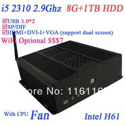 Wholesale mini itx LGA1155 htpc server i5 quad core Ghz nm processor G RAM TB HDD high performance intel HD CPU bit
