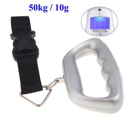 Wholesale LCD Display Electronic New Scales Balance kg lb kg g Digital Portable Electronic Lage Weight Hanging Scale Belt