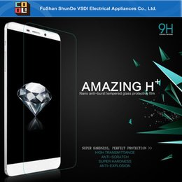 Wholesale Super hardness tempered glass screen protector for Letv Pro x900 x600 HD definition with retail package