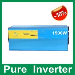 Wholesale HOT SALE Watt Pure Sine Wave Power Inverter W Wind Solar Inverters DC12V V V to AC110V V Off Grid Inverter