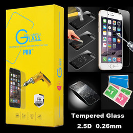 Wholesale For iphone Plus S6 D H Premium Tempered Glass Film Screen Protector For Samsung Galaxy Note S6 Plus