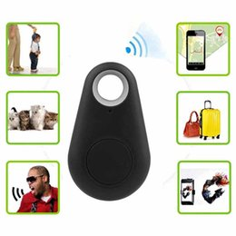 Wholesale 2016 gsm system bluetooth tracker anti lost alarm remote key finder gps anti lost for iphone samsung android with battery package
