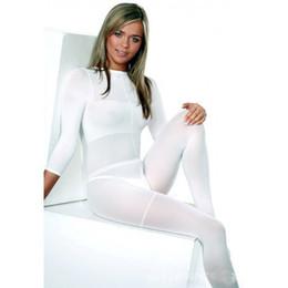 Wholesale top grade white black LPG body roller massage costume vacuum slimming suit for velashape therapy machine