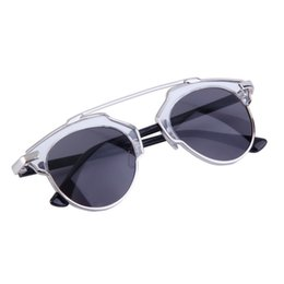 Wholesale-4 Colors Fashion Women Vintage Metal frame Sunglasses UV Protection Cat Eye Glasses Decoration Goggles Eyewear 2016 Hot Sale