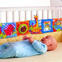 Wholesale New Arrivals Kid Baby Infant Animal Cloth Books Nursery Decor Intelligence Development Toy KB1