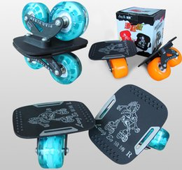 Wholesale Ultimate drift board wheels wind fire wheels large panel shoes wheel scooter set