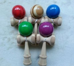 Bamboo ball 18.5cm skills Yu Jian sword ball bite Aunt special super good games balls Kendama tricks