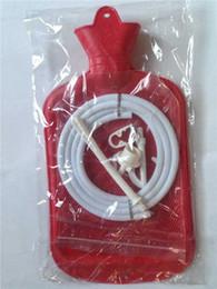 free shipping New style 2000ml hot water bottle syringe enema bag