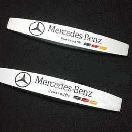 Wholesale Exterior Accessories Car Stickers PC Car Body Side Fender Skirts Sticker Badge Emblem For Mercedes Bnz