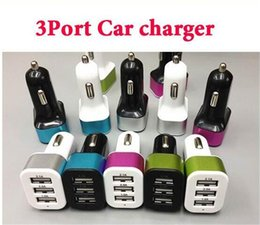 Wholesale 200pcs aluminum alloy Universal USB Port A usb Car Charger power adapter DC12V V for iPhone plus ipad pro samsung
