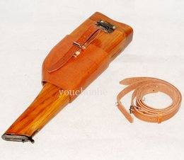 Wholesale GERMAN MAUSER BROOMHANDLE LEATHER PISTOL HOLSTER AND STOCK