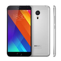 Wholesale Grey MEIZU MX5 G LTE Fingerprint Scanner GB RAM GB ROM Bit Octa Core Helio X10 Turbo GHz inch MP Camera Smartphone